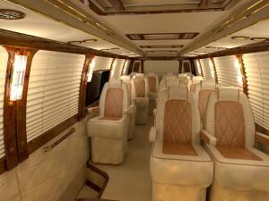 Luxury Bus Inside