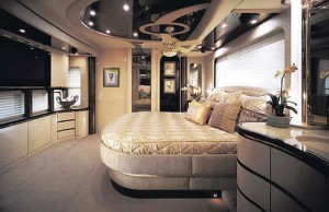 Luxury Bus Bedrooms