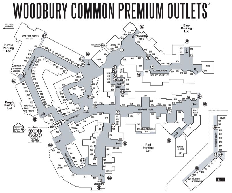 Eastside Woodbury Common Premium Outlets