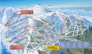 Falls Creek Alpine Trail Map
