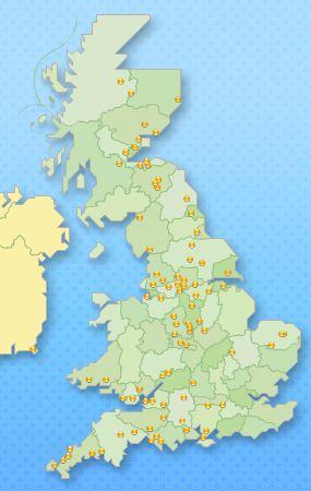 Megabus UK Routes